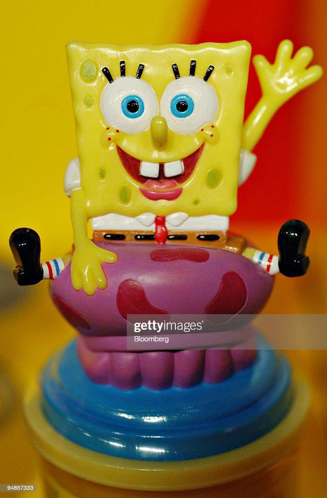 Spongebob Play-doh : spongebob, play-doh, Play-Doh, Stamper, Character, SpongeBob, SquarePants, Depicted..., Photo, Getty, Images