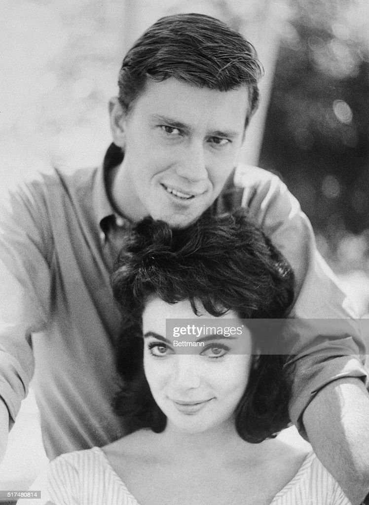 Karyn Kupcinet with Andrew Prine Pictures Getty Images