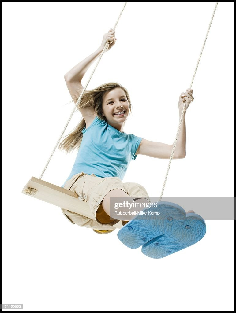 flip chair for adults rentals san jose little girl thong stock photos and pictures | getty images