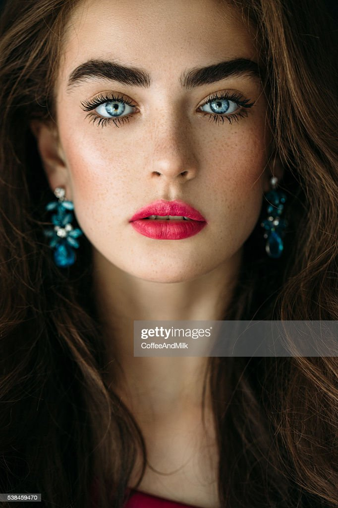 Portrait Of A Nice Looking Woman Stock Photo  Getty Images