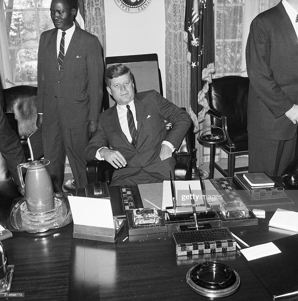 President Kennedy in Oval Office Pictures  Getty Images