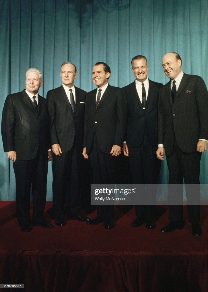 President Nixon and His Cabinet Pictures  Getty Images