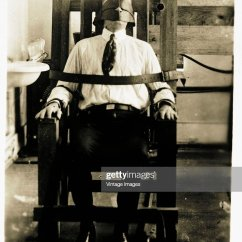 Death By Electric Chair Video Big 5 Camping Chairs Stock Photos And Pictures A Prisoner In The Circa 1900