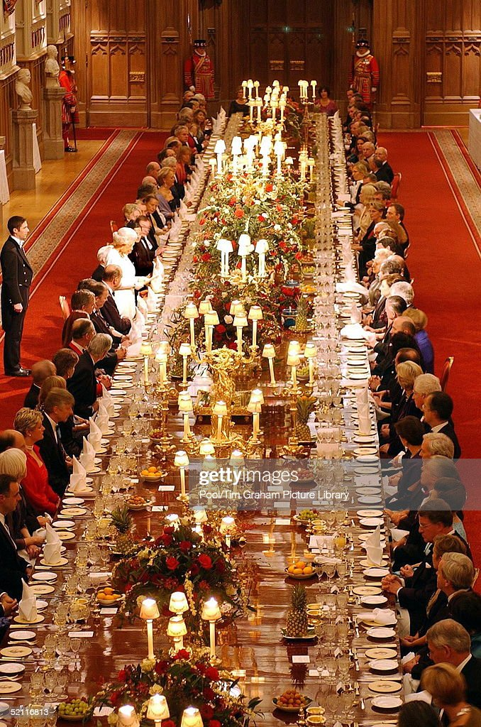 Queen State Banquet Pictures Getty Images