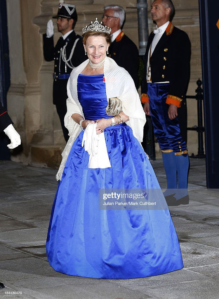 Princess Stephanie Luxembourg Prince Guillaume Countess Stephanie Belgium Married