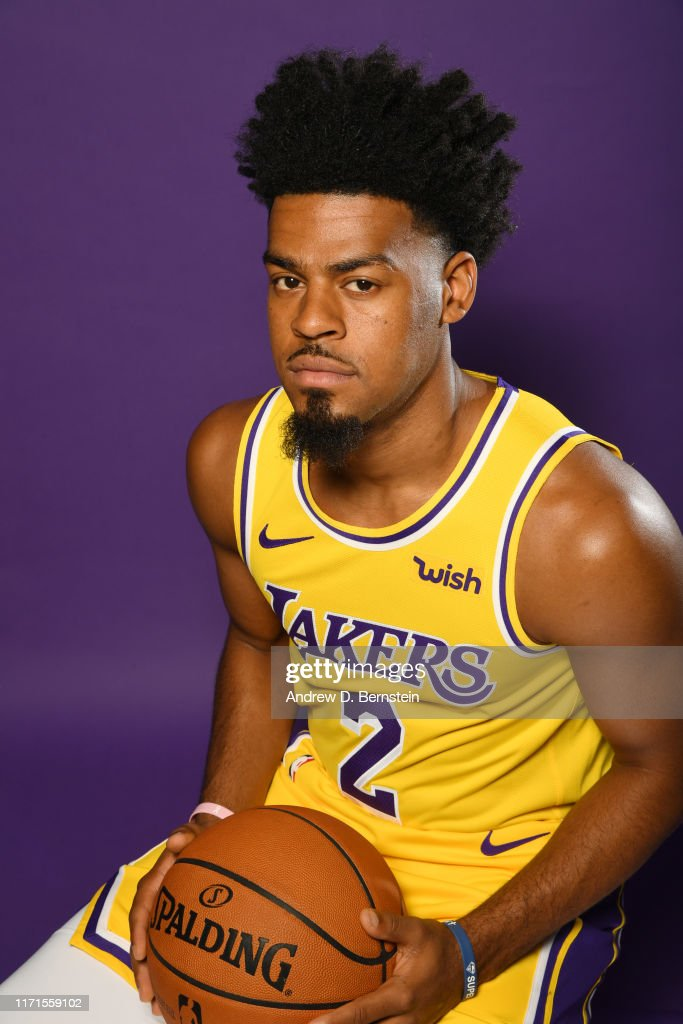 Quinn Cook Hairstyle : quinn, hairstyle, Quinn, Angeles, Lakers, Poses, Portrait, During..., Photo, Getty, Images