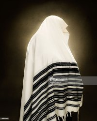 A Rabbi Wearing A Prayer Shawl Stock Photo | Getty Images