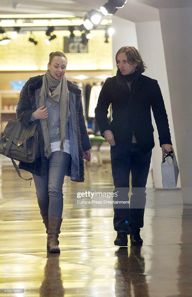 Luka Modric Wife Stock Photos and Pictures  Getty Images