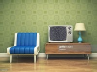 Retro Interior Design Stock Photo