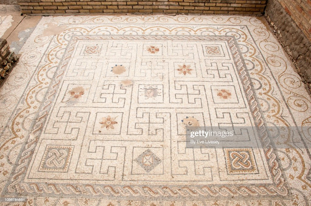 roman mosaic floor high res stock photo getty images