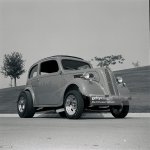 Ron Cappel S All Metal 1951 Ford Anglia Is Built Like A Drag Car But News Photo Getty Images
