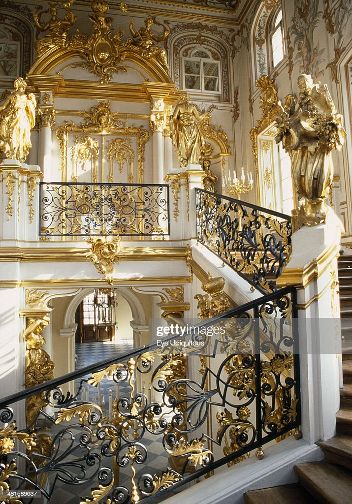 Grand Interior Peterhof Palace