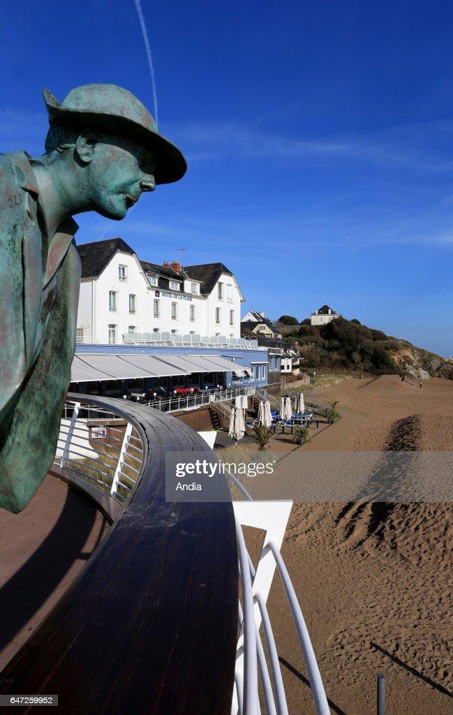 La Plage De Monsieur Hulot : plage, monsieur, hulot, Saint-Marc-sur-Mer, Famous, Beach,
