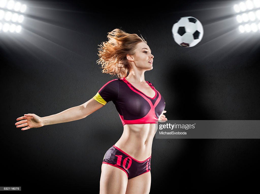 Girl Soccer Player Wallpaper Sexy Soccer Player Stock Photo Getty Images