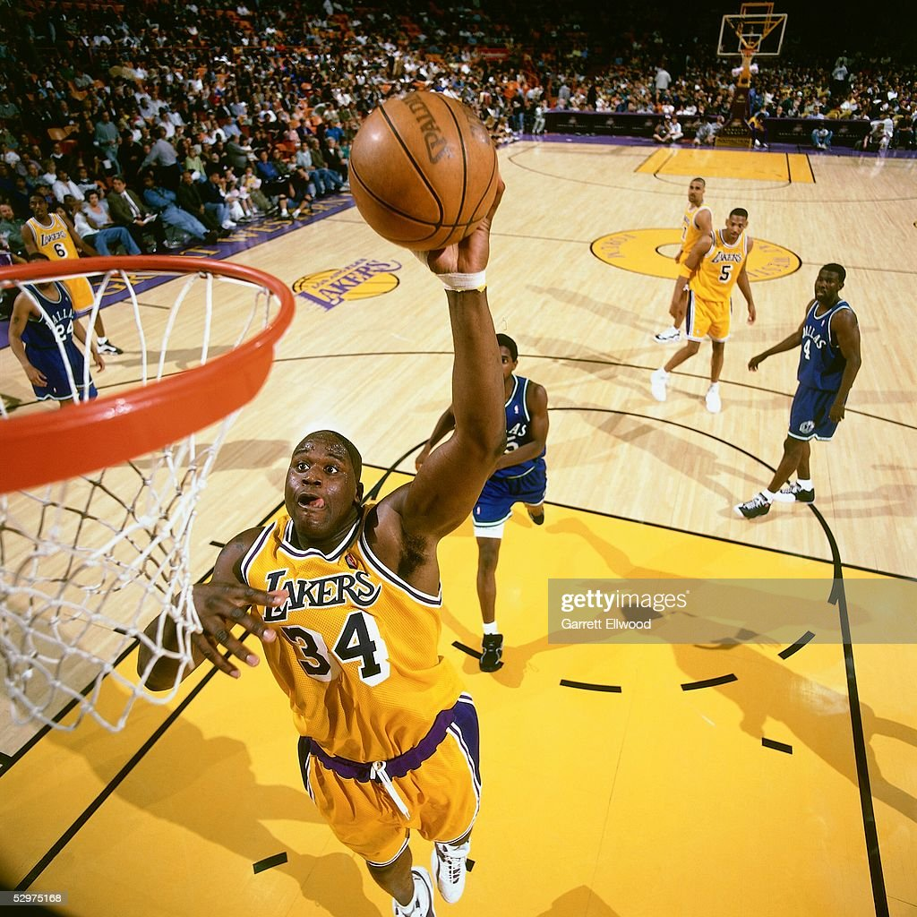 Shaquille O'Neal Action Portrait Pictures   Getty Images