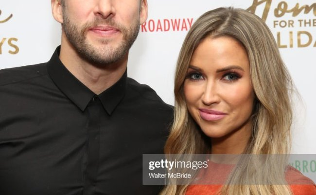 Shawn Booth And Kaitlyn Bristowe Attend The Broadway