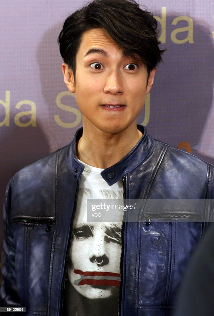 Singer and actor Chun Wu attends a cutting ceremony of Moda SHU on... News Photo - Getty Images