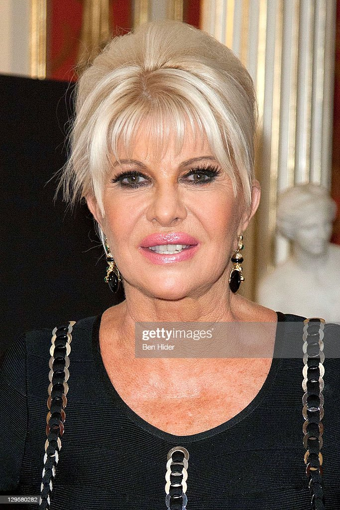 Socialite Ivana Trump attends the Ivana Living Legend Wine Collection... News Photo - Getty Images