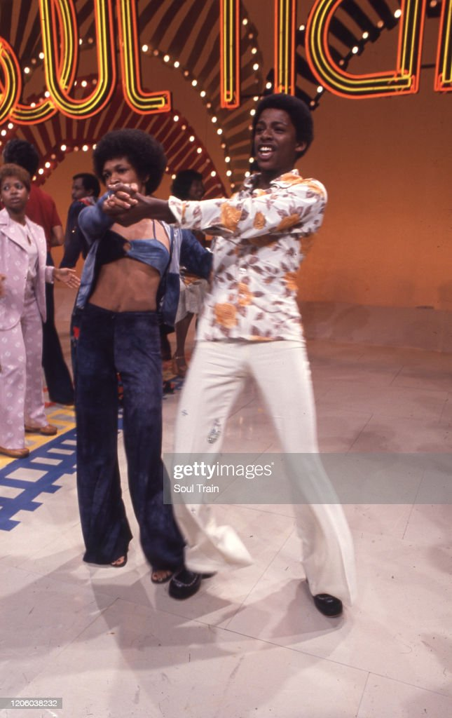 Soul Train Line Dancing : train, dancing, Train, Dancer, Darnell, Williams, Swings, Partner, Soul..., Photo, Getty, Images