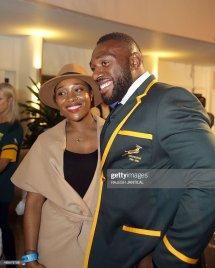 South Africa' Zimbabwean-born African Prop Tendai