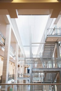 Stairs And Stairwells In Modern Office Building Stock ...