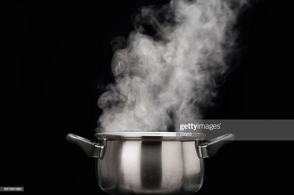 Coming Out Steam End Pot