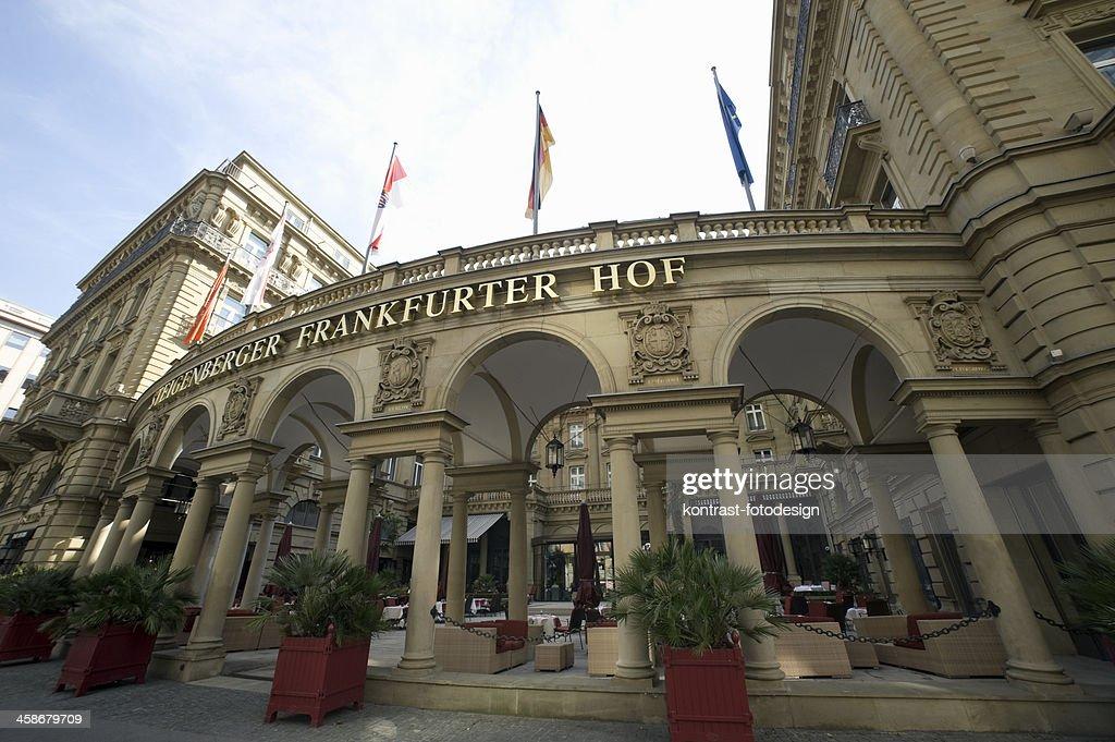 Steigenberger Frankfurter Hof Frankfurt Germany Stock Photo