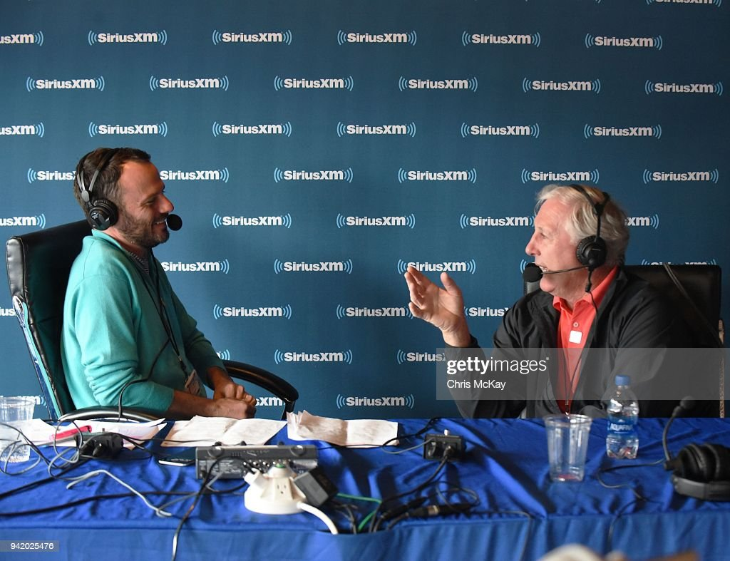 Siriusxm Broadcasts From The Masters 2018 Day 1 Stock