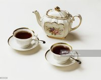Fancy Tea Cups And Saucers Stock Photos and Pictures ...