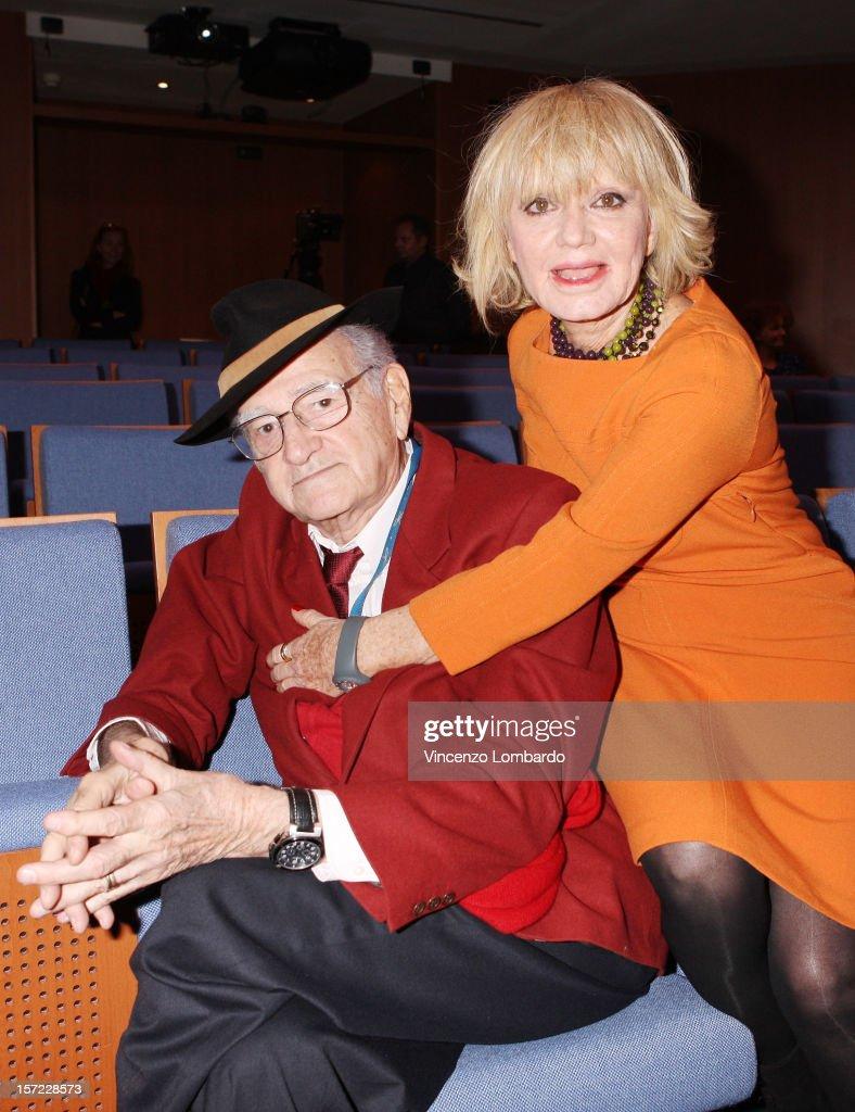 Teddy Reno And Rita Pavone Attends Il Giornalino Di