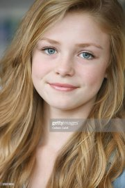 teenage girl with long blond hair