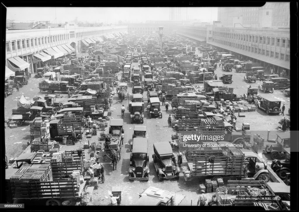 Terminal Market at South Central Avenue and 7th Street ...