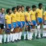 The Brazil National Football Team Line At The World Cup