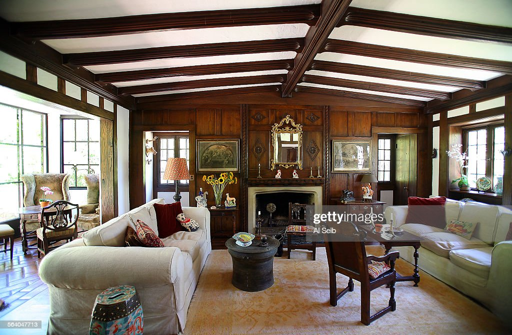MONTECITO CA The living room of actor Tab Hunters house