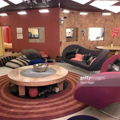 Cabin Style Living Room Soft Green Paint Color For The New Big Brother 2 House On 2001 News Photo