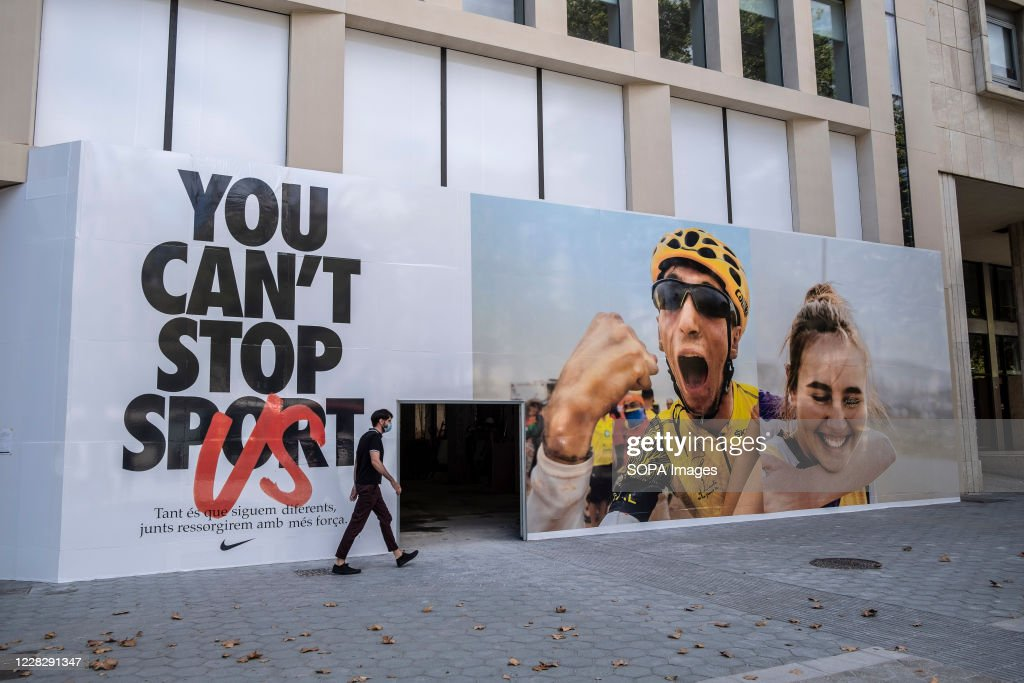Sports direct has taken a leaf out of the nike playbook with 'just a. 651 Nike Ad Photos And Premium High Res Pictures Getty Images