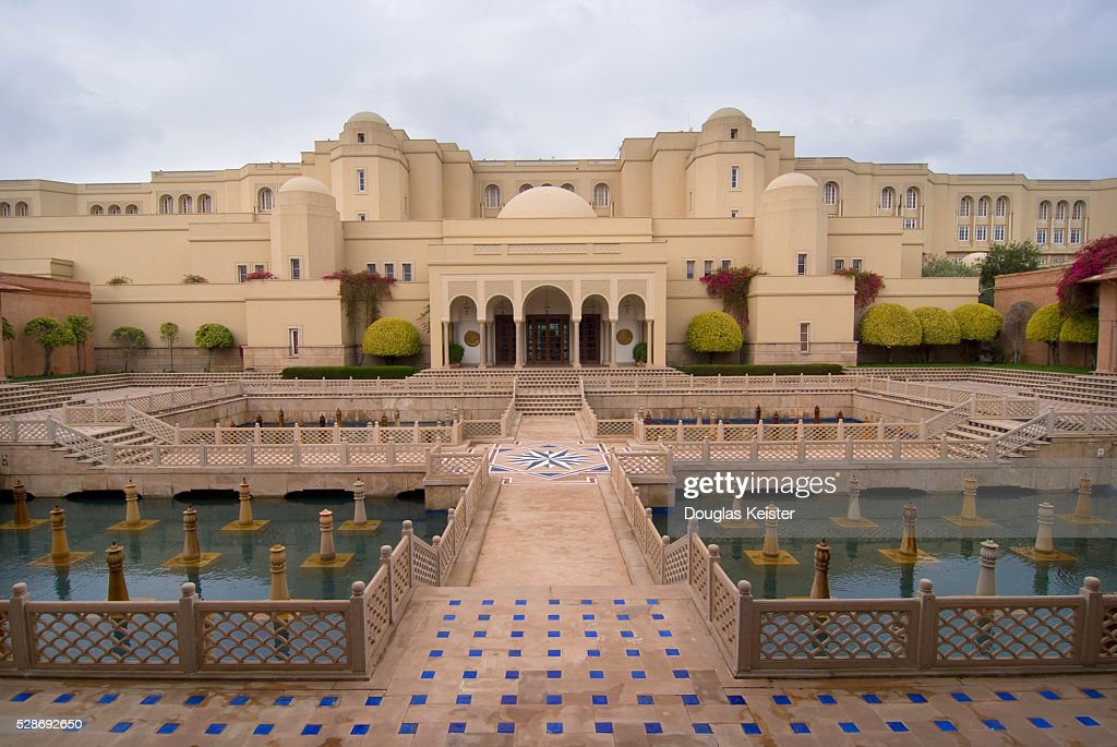 The Oberoi Amarvilas Hotel Agra India High Res Stock Photo