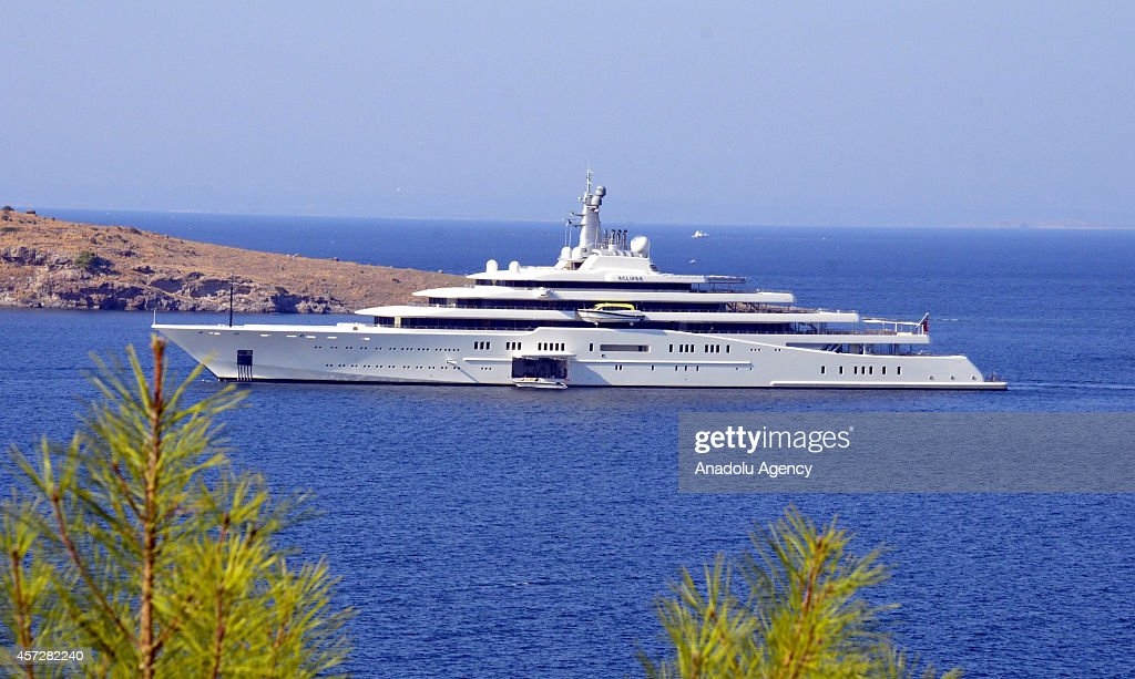 The private luxury yacht of Russian billionaire Roman Abramovich.... News Photo - Getty Images
