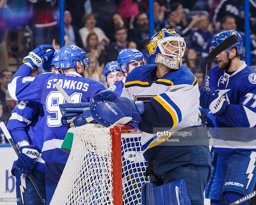 st louis blues v tampa bay lightning photos and images getty