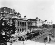 Vienna Opera Ring With State And Hotel Bristol