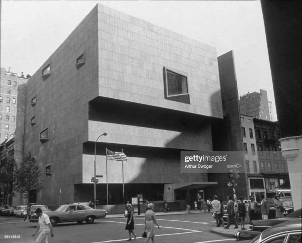 Marcel Breuer Whitney Museum of Art NYC