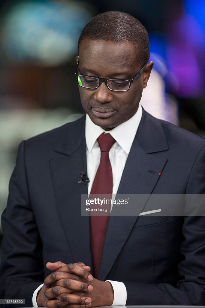 Tidjane Thiam Chief Executive Officer Of Prudential Plc