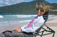 Funny Beach Chair Stock Photos and Pictures | Getty Images