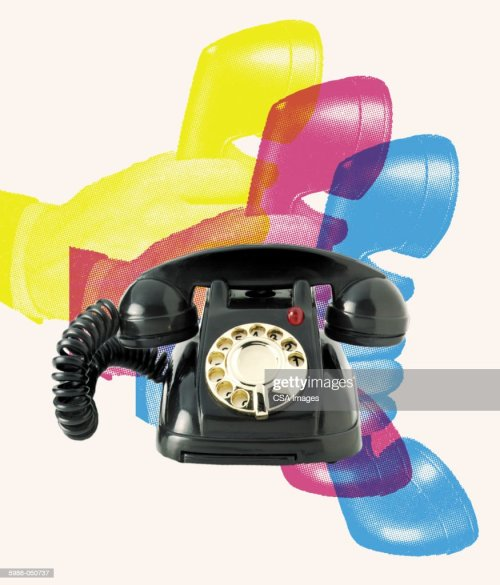 small resolution of toy rotary telephone stock photo