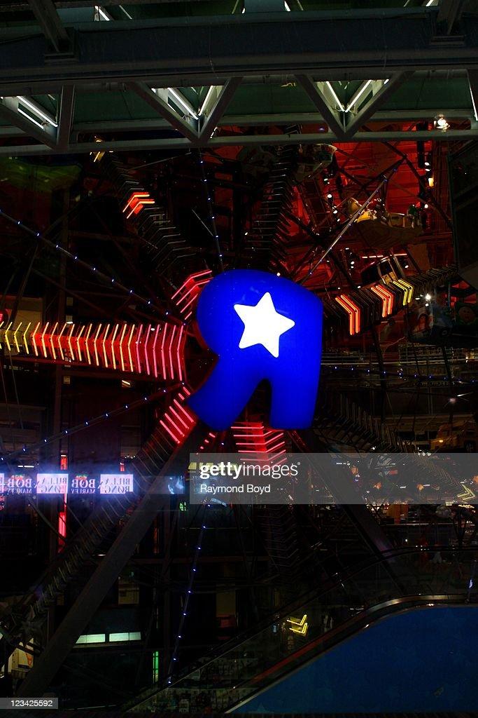 Backwards R Logo : backwards, Backwards, Times, Square, Night, York,..., Photo, Getty, Images