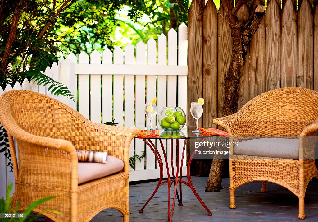 key west chairs office johannesburg tropical patio with drinks pictures getty images