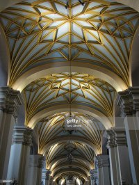 Vaulted Cathedral Ceiling Stock Photo | Getty Images