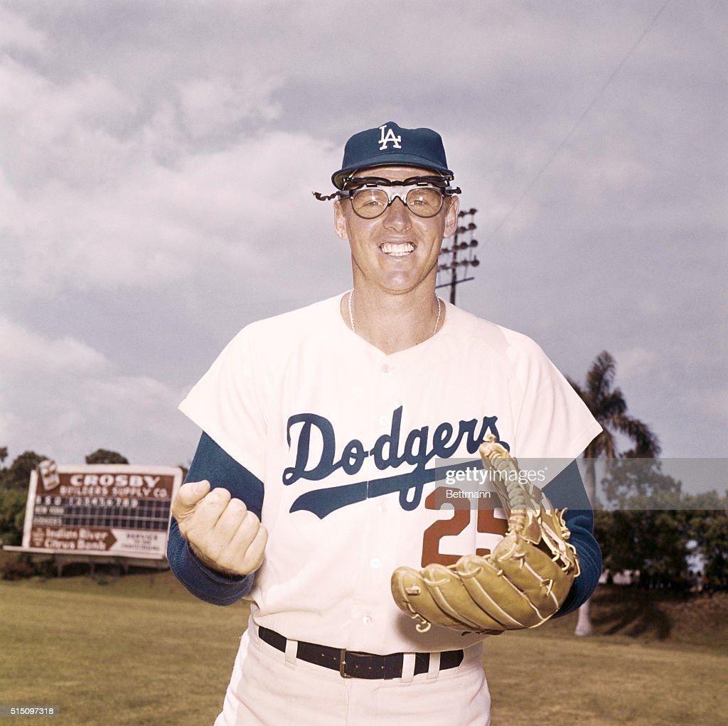 Frank Howard of the Dodgers is shown in this closeup ...