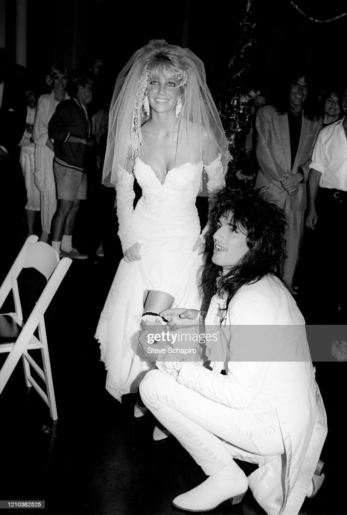 Tommy Lee And Heather Locklear Wedding Photos : tommy, heather, locklear, wedding, photos, Heather, Locklear, Tommy, Photos, Premium, Pictures, Getty, Images
