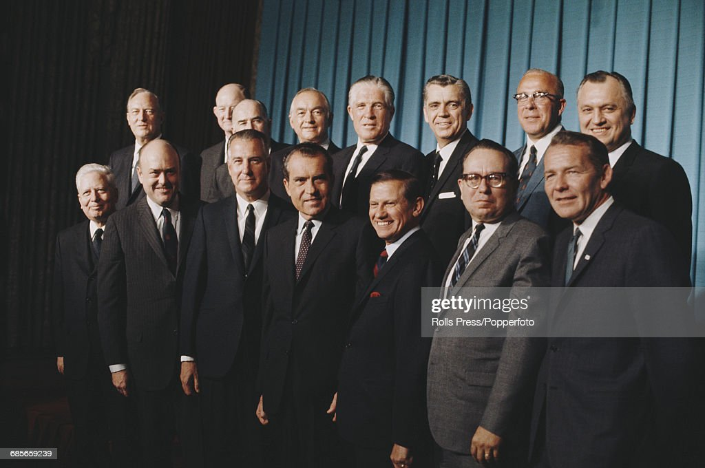 Richard Nixons Cabinet Pictures  Getty Images